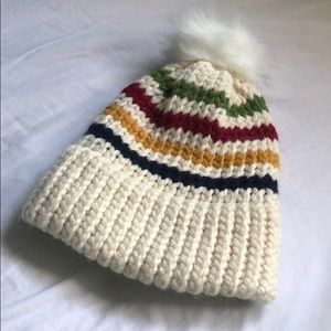 NEW Hudson Bay Colours Winter Hat